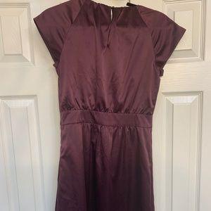 Limited Satin Purple Dress